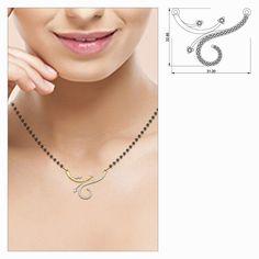 Ritu Diamond Mangalsutra #DiamondPendant #BuyPendant #OnlineDiamondShopping