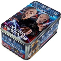 BBC Doctor Who Monster Invasion 2 Tin Trading Card Game BBC Worldwide http://www.amazon.com/dp/B005K89170/ref=cm_sw_r_pi_dp_Pp81tb0MF0TAD2DF