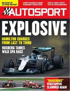 Belgian GP: 16 page report. Hamilton charges from last to third, Rosberg tames…