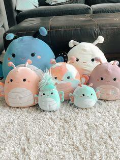 Pink Movies, Octopus Crochet Pattern, Figet Toys, Cute Squishies, Cool Fidget Toys, Cartoon Wallpaper Iphone, Cute Stuffed Animals, Cute Pillows, Cute Plush