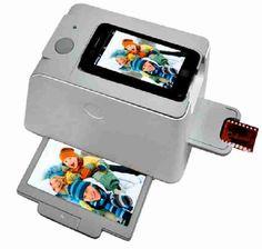 Muy muy fácil es pasar tus viejas fotos y diapositivas a formato electrónico a través de tu teléfono móvil con este escáner para móvil. Este aparato y un cable USB con conexión para tu teléfono te bastan para tener tus fotos antiguas en el ordenador y no pasarte horas y horas escaneando con tu impresora en casa, si es que eres de los que tienen impresora con escáner en casa... https://www.qualimail.es/articulos/escaner-para-movil