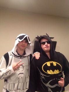 Batman Graser and Stormtrooper Will