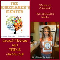 Giveaway of The Homemaker's Mentor at The Potter's Hand Academy!  2 WINNERS!!  Ends 10/14/14!