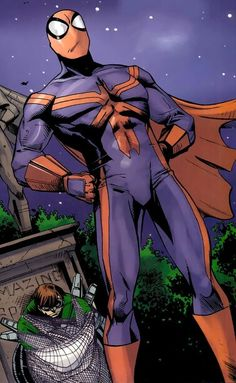 Not the first time he's had a cape.:::Eat your heart out Supes.