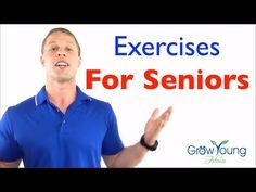 Balance Exercises for Seniors - Fall Prevention - Balance Exercises for Elderly - YouTube