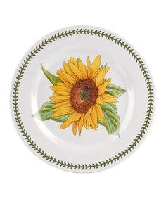 Portmeirion Botanic Garden Sunflower Melamine Dinner Plate - Set of Four   zulily