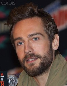 "Tom Mison from the TV Show ""Sleepy Hollow""."