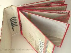 Tutorial mini álbum con espiral escondida | El Rincon de Arya