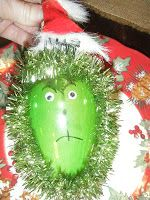 Kindergarten Times~ Grinch ornament