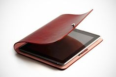 "iPad2 Leather ""Arc Cover"""