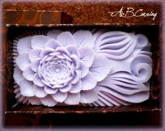 Lotus soap, soap carving flower, hand carved soap, decorative soap, purple soap flower, purple lotus soap, lotus lover gift, gift for Mom Mother Day Gifts, Gifts For Mom, Decorative Soaps, Soap Carving, Origami Jewelry, Gift For Lover, Pumpkin Carving, Happy Shopping, Anniversary Gifts
