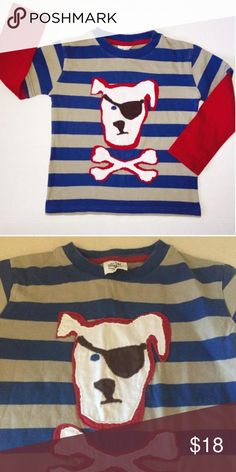 HTF Mini Boden Rare and HTF Boden does not lose resale value. PATCHWORK APPLIQUÉ T-SHIRT. Like new. No fading, holes, stains etc. 3/4 y.  Without tags but in almost new condition. (TB) Mini Boden Shirts & Tops