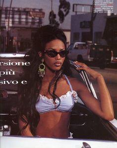 Naomi Campbell Vogue Italia June 1992 by Albert Watson