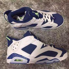 The Best Look at the 'Ghost Green' Air Jordan 6 Low