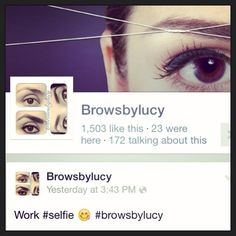 Made it to over 1,500 #LIKES on #Facebook  #Thanks to all of yous that #follow me and are making #browsbylucy possible!   #thankyou #thankyou #thankyou  #brows #threading #eyebrows #wowbrows #browguru #eyebrowthreading #browsbylucy