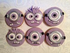 Evil minion cookies!