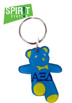 Alpha Xi Delta Mascot Keychain-On sale this week! (1/20-1/26/13)