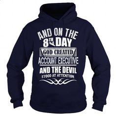 ACCOUNT EXECUTIVE - custom t shirt #sleeve #full zip hoodie