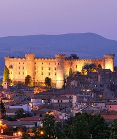 Odescalchi Castle (Bracciano, Italy), where Tom Cruise and Katie Holmes were married