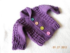 Ravelry: Baby Jacket pattern by Mari Lynn Patrick Crochet Today! Nov/Dec 2010