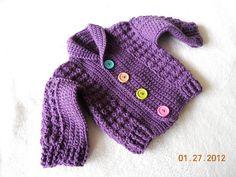 Ravelry: Baby Jacket pattern by Mari Lynn Patrick Crochet Today! Nov/Dec 2010