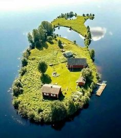 A small island in Rovaniemi, Finland  #wow .... a slice of heaven....maybe if I won a bazillion dollars in some lotto...sigh..