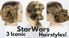 What better way to celebrate the official release of Star Wars than with futuristic inspired hairstyles, right? These three gorgeous updos have been worn by Leia, Rey and Padme and now is your chance to recreate the looks. Keep scrolling to try out these amazing looks on yourself. Which hairstyle is your favorite?