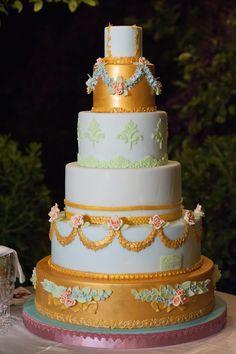 Wedding Cake in Palazzo Suriano. Renato Ardovino Cake Designer