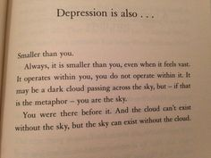 From - Reasons to stay alive a book by Matt Haig - http://www.matthaig.com