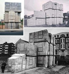 Rachel Whiteread   Cast Concrete Art House Turns Space & Solid Inside Out