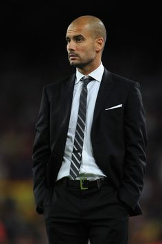 Pep has to be the most good looking and stylish coach I have ever seen. In addition, he was a great coach. He is just full of awesome!