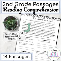 2nd Grade Reading Passages, 2nd Grade Reading Comprehension, Reading Fluency, Reading Activities, Guided Reading, Describing Characters, Reading Assessment, Making Inferences, Authors Purpose