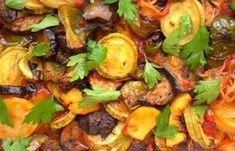 Φτιάξτε μπριάμ λαχανικών στο φούρνοΚΡΗΤΙΚΑ ΕΠΙΚΑΙΡΑ Sprouts, Pork, Nutrition, Meat, Chicken, Vegetables, Ethnic Recipes, Kale Stir Fry, Vegetable Recipes
