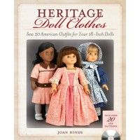 Heritage Doll Clothes | Martha Pullen