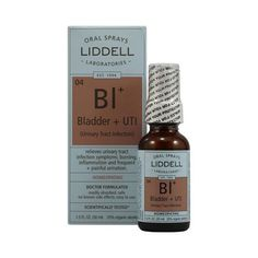 Liddell Homeopathic Bladder And Uti Spray - 1 Fl Oz