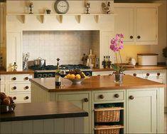 modern country style: modern country kitchen colour scheme l