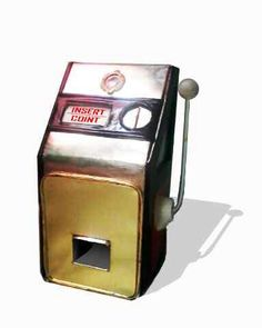 Candy machine | tin toy | coint bank | insert coint | plate banding | tin konguan biskuit