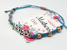 Βραχιολάκι για τη μαμά – HandArtisan Bracelets, Jewelry, Jewlery, Jewerly, Schmuck, Jewels, Jewelery, Bracelet, Fine Jewelry