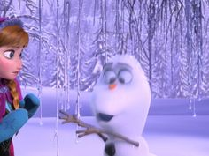 Paused moment: Meeting Olaf