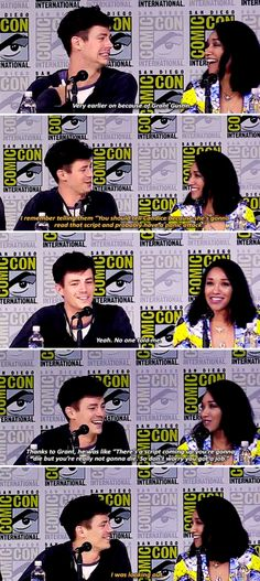 The Flash cast at SDCC 2017 - When did you know that your character was actually gonna survive?
