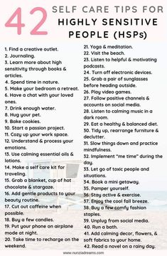 hsp highly sensitive \ hsp highly sensitive ` hsp highly sensitive quotes ` hsp highly sensitive tips ` hsp highly sensitive truths ` hsp highly sensitive psychology Motivation Positive, Feeling Exhausted, Self Care Activities, Self Improvement Tips, Self Care Routine, Coping Skills, Best Self, Self Development, Self Help