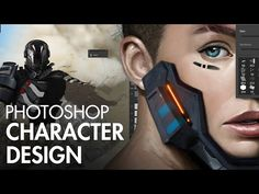 Character Effects Tutorial - How to Design Characters in Photoshop with Dan LuVisi
