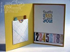 Perfect Blend from Stamps, Paper, Scissors Control Freaks blog tour inside card/gift card holder (2 of 2)