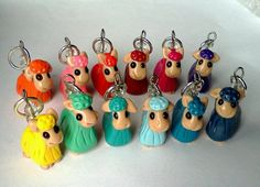 STITCH MARKERS -Custom Alpaca - for knitting needles / choose colors - etsy.com - 16.00