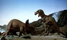 One Million Years B.C. (terrible movie, but great dinosaurs by Ray Harryhausen)