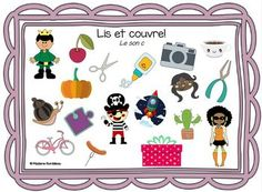 Lis et couvre: C dur et C doux by Madame Bordeleau | TpT Madame, Word Map, Reading Centers, Game Boards, Game Mechanics, Classroom, Cards