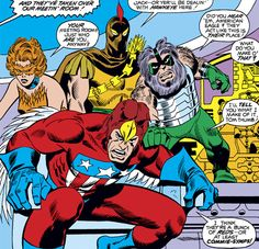 Squadron Supreme first appearance
