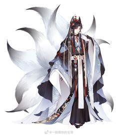 Anime Demon Boy, Anime Devil, Anime Art Girl, Anime Kimono, Animes Emo, Kitsune Mask, Tamamo No Mae, Lovely Girl Image, Boy Character