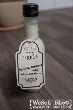Muttertagsgeschenk - Vanille-Sahne Likör