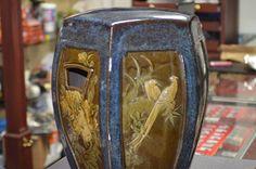 CERAMIC GARDEN STOOL AMAZING ART BIRDS, A HORSE, TIGER
